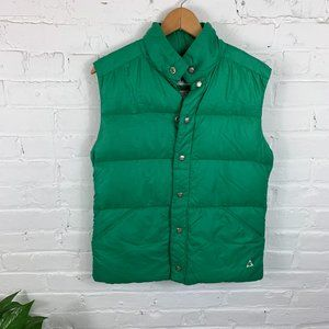 Gerry Sleeveless Goose Down Puffer Vest Jacket S